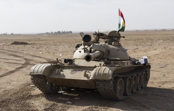 Picture desert, the barrel, Tank
