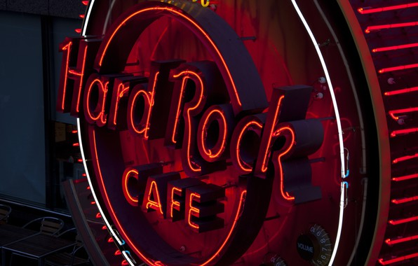 Photo wallpaper city, the city, Cafe, Hard Rock Cafe, The hard Rock cafe, A cafe