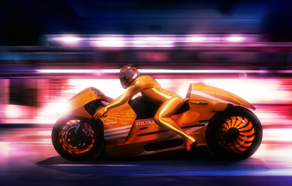 Picture design, style, background, race, speed, concept, motorcycle, motorcyclist, Lee Rosario