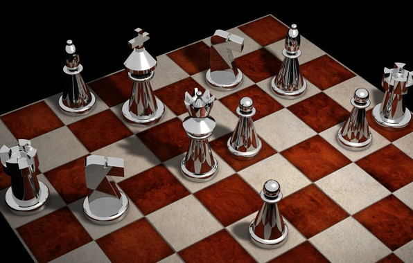 Picture rendering, chess, Board, figure