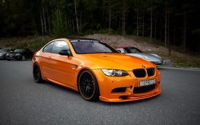 Picture BMW, BMW, Orange, Orange, e92, Cars, Coupe