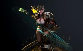 Picture fantasy, the game, warrior, fantasy, art, The Hunter, Skil, Dave Hansan