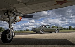 Picture Ford Mustang, 1965, Muscle car, Espionage