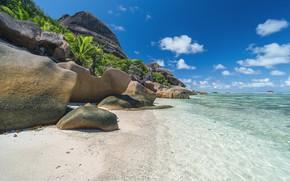 Picture beach, stones, rocks