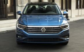 Picture Volkswagen, Jetta, front view, 2018