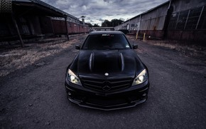 Picture AMG, Mercedes - Benz, Tuning, C63, Sedan, Evoked Photography