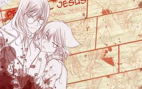 Picture anime, art, Loveless, Unloved, Ritsuka, Sobi