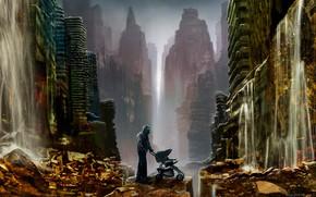 Picture the city, destruction, Romantically Apocalyptic, kolska