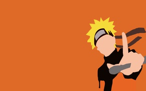 Wallpaper sugoi, yuusha, manga, orange, subarashii, by elipticpower, ninja, shinobi, asian, Uzumaki Naruto, genin, Ashura, kunai, ...