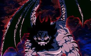 Picture demon, game, devil, anime, wings, red eyes, manga, oriental, asiatic, strong, oni, Nanatsu no Taizai, …