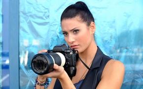Picture look, decoration, actress, the camera, bracelets, hair, writer, Bianca Bree, nikon n90-s, Bianca Bree Van …