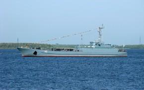 Wallpaper project 770, medium landing ship, SDK-82