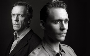 Picture Hugh Laurie, Hugh Laurie, Tom Hiddleston, Tom Hiddleston, mini-series, Night administrator, The Night Manager