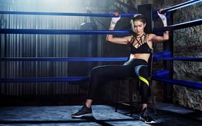Picture celebrity, training, Gigi Hadid