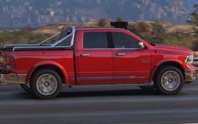 Picture road, Dodge, Grand Theft Auto V