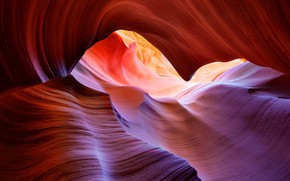 Wallpaper gorge, paint, antelope canyon, AZ, USA
