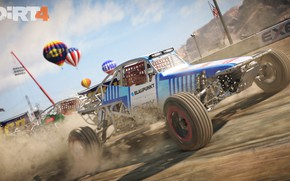 Picture car, game, Dirt, race, speed, fast, Dirt 4