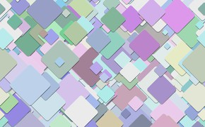 Wallpaper multicolor, background, abstraction, geometry, squares, pattern