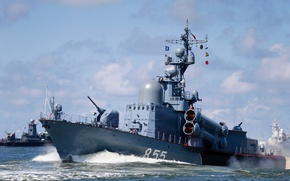 Picture guards, Missile boat, Zarechnyy