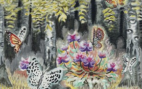 Picture 1962, A Dream of Butterflies, Charles Ephraim Burchfield