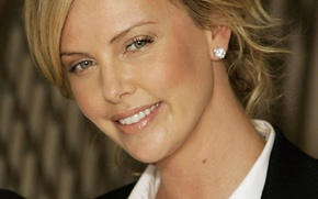 Picture face, Charlize Theron, model, actress, blonde, Charlize Theron