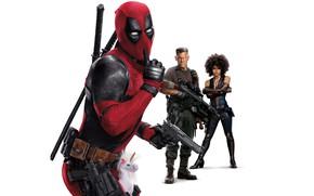 Picture Superheroes, Ryan Reynolds, Zazie Beetz, Josh Brolin, Deadpool, Domino, 20th Century Fox