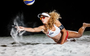 Wallpaper volleyball, the ball, sport