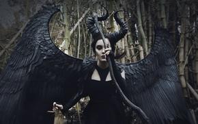 Wallpaper woman, cosplay, Demon