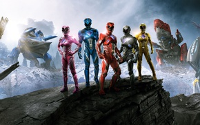 Picture Action, Fantasy, Power, the, Girls, EXCLUSIVE, Walt Disney Pictures, Movie, Rangers, Film, Adventure, Power Rangers, …