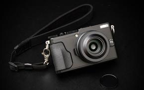 Wallpaper lens, Fujifilm X70, the camera, macro