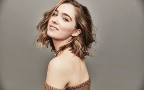 Picture look, smile, background, portrait, makeup, actress, hairstyle, brown hair, photoshoot, Sundance, for the film, 2017, …