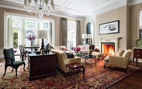 Picture design, style, interior, living room, Incredible Manhattan Townhouse