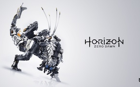 Picture machine, robot, monster, Guerrilla Games, Horizon Zero Dawn