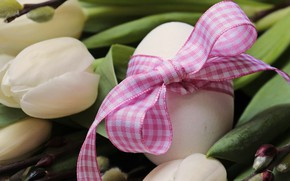 Picture Flowers, Tulips, Easter, Eggs, Bouquet, Buds, Holiday