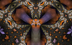 Picture Pattern, Flowers, Fractal