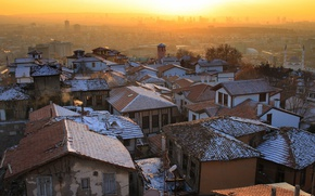 Picture the city, Sunset, Ankara