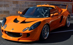 Picture Lotus, Orange, Car, Supercar, Supercar, 250, Sports car, Sportcar, Elise