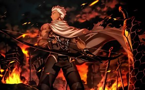 Picture Fate Stay Night, anime, asian, manga, japanese, Archer