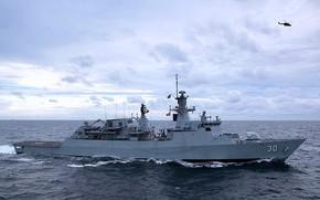 Picture sea, frigate, kd leki is