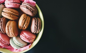 Picture cookies, different, macaron, macaron