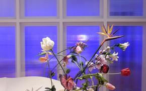 Picture flowers, widescreen, Wallpaper, bouquet, wallpaper, widescreen, background, the Wallpapers, composition, full screen, HD wallpapers, widescreen, ...