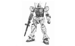 Picture robot, Gundam, RX-78-2