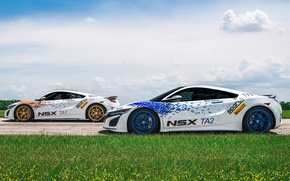Picture car, race, speed, Acura, Acura NSX, Sparco