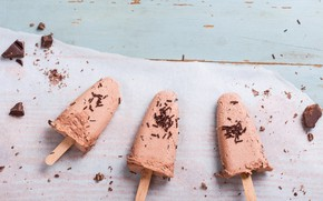 Picture chocolate, ice cream, chocolate, delicious, ice cream