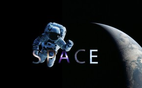Picture Space, Earth, Astronaut, Space, Cosmos, Open space