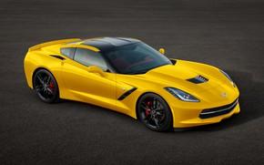 Wallpaper Corvette, Chevrolet, Stingray