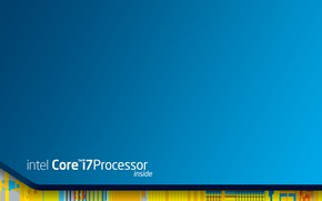 Wallpaper intel, multi monitors, multi-monitor, core i7, 3840x1080, intel inside, intel inspired