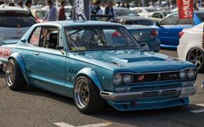 Picture Auto, Blue, Machine, Nissan, Nissan, Car, 2000, Skyline, Nissan Skyline, 2000GT, Japanese, 2000GT-R, 2000 GT, …