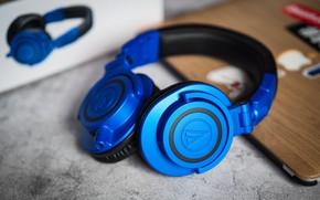 Picture macro, headphones, ATH-M50xBB