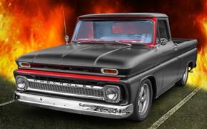 Picture Chevrolet, 1965, CK Truck